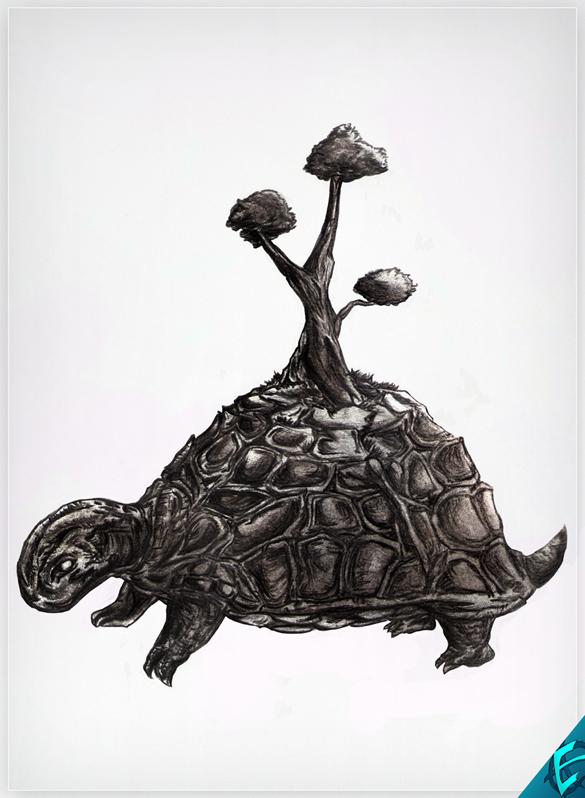 Turtle Island Final - Half-size