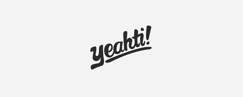 Yeahti Logo - Type