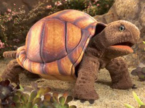This Adorable Clyde The Tortoise Replica