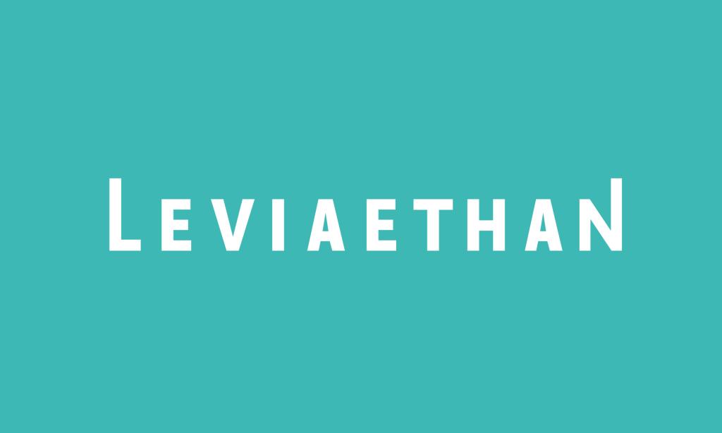 Ethan Anarchy, Ethan Lesley, Existhantial logo, Leviaethan