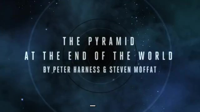 The Pyramid At The End Of The World watch thread