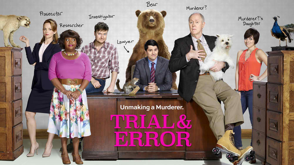 Trial & Error renewed for season 2. Recommended watch.