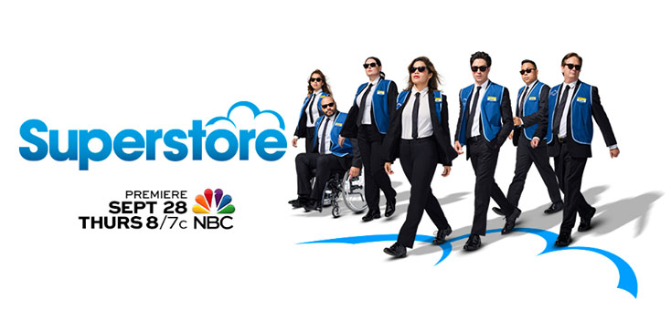 Superstore returns to NBC September 28 for its third season