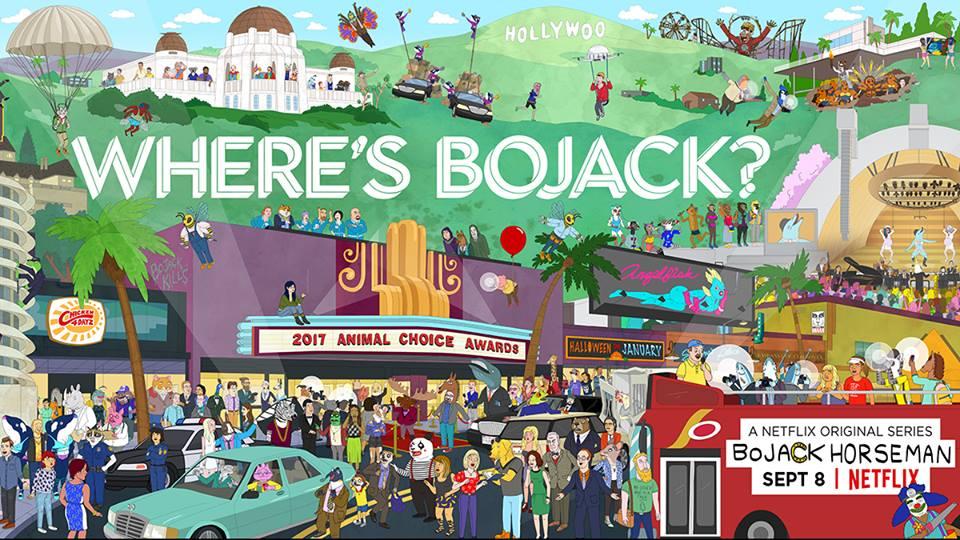 BoJack Horseman season 4 on Netflix : September 8
