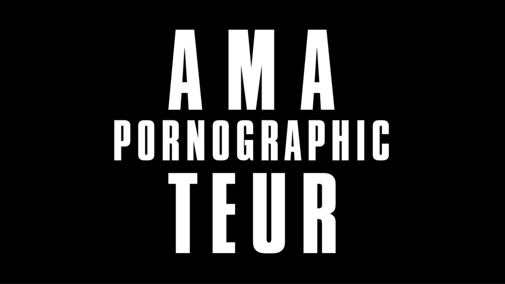 Purchase Amateur Pornographic