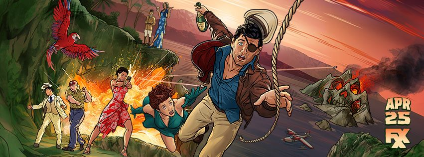 Archer: Danger Islands watch thread